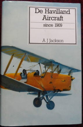 Putnam 'De Havilland Aircraft since 1909' Revised 1987 edition.