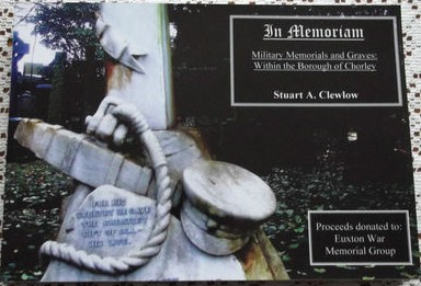 Military Memorials & Graves Within the Borough of Chorley