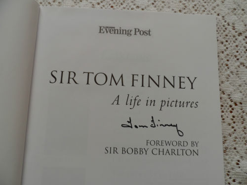 Sir Tom Finney: A Life in Pictures – Signed