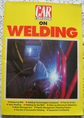 Car Mechanics Book on Welding Techniques - Car Repairs & Restoration