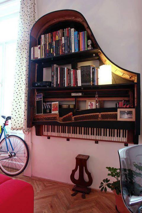 Piano storage hack