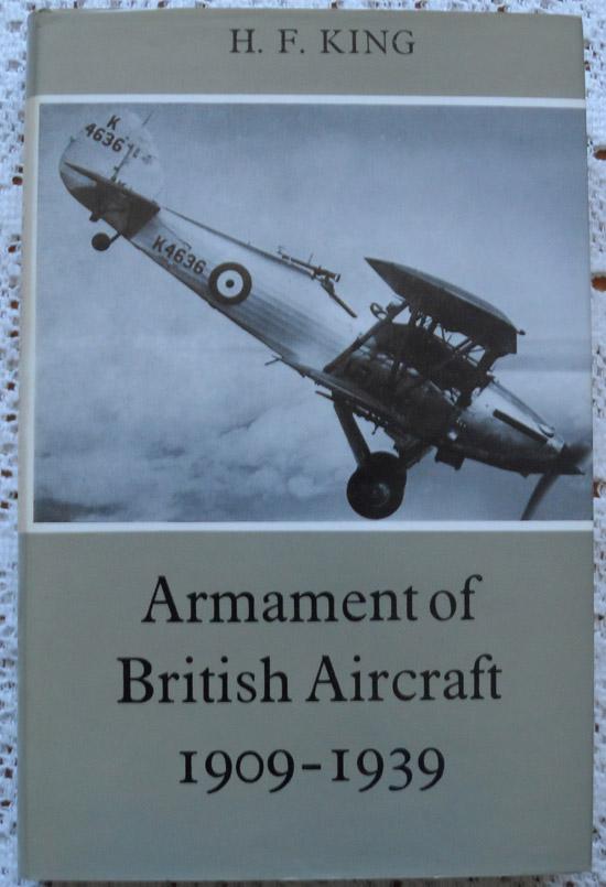 Armament of British Aircraft 1909-1939