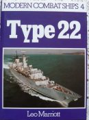 Modern Combat Ships No 4: Type 22 by Leo Marriott