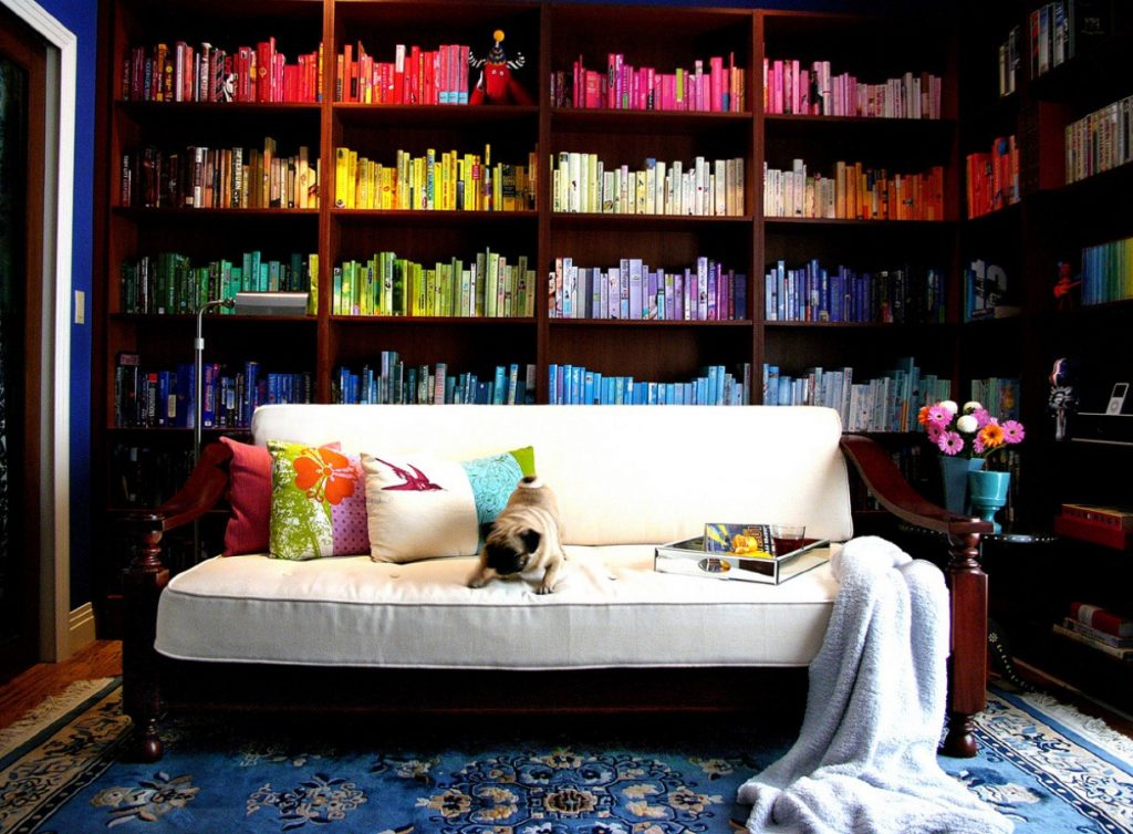 Colour Coded Book Collection