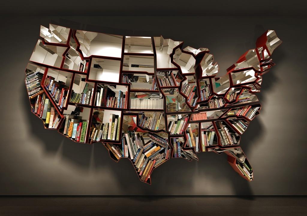 USA Bookshelf by Ron Arad