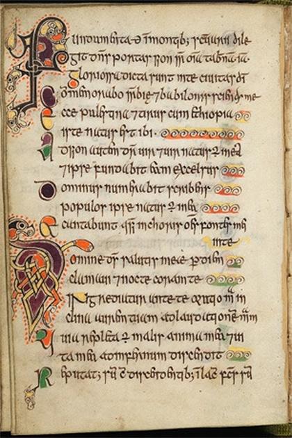 Scotland's oldest book - Edinburgh Univeristy