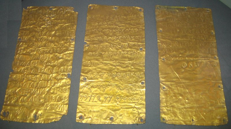 Pyrgi Gold Tablets
