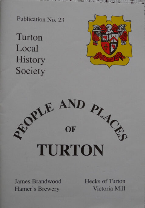 People and Places of Turton - Turton Local History Society Publication