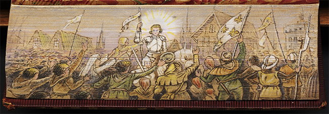 The People of Orleans Greet Joan of Arc