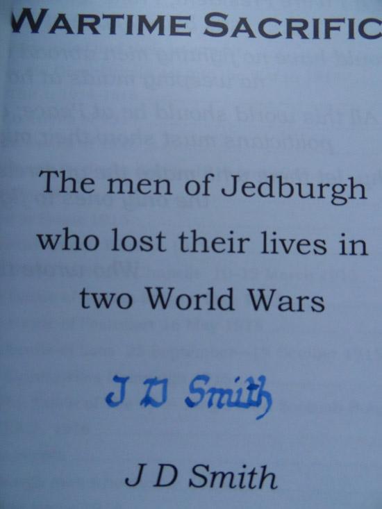 Jedburgh-Wartime-Signed