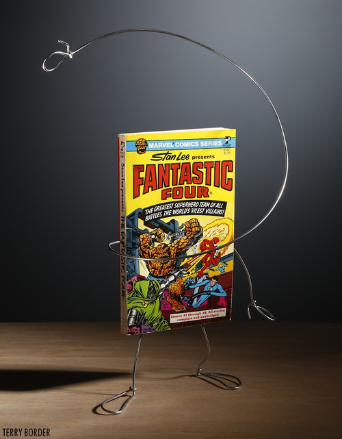 Stan Lee presents: The Fantastic Four - Image Copyright Terry Border