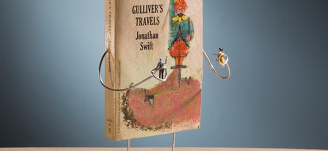 Gulliver's Travels by Jonathan Swift - Image Copyright Terry Border