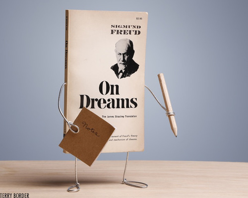 On Dreams by Sigmund Freud - Image Copyright Terry Border