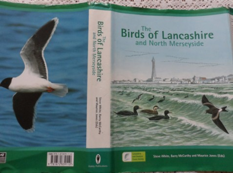 Dust wrapper: The Birds of Lancashire and North Merseyside