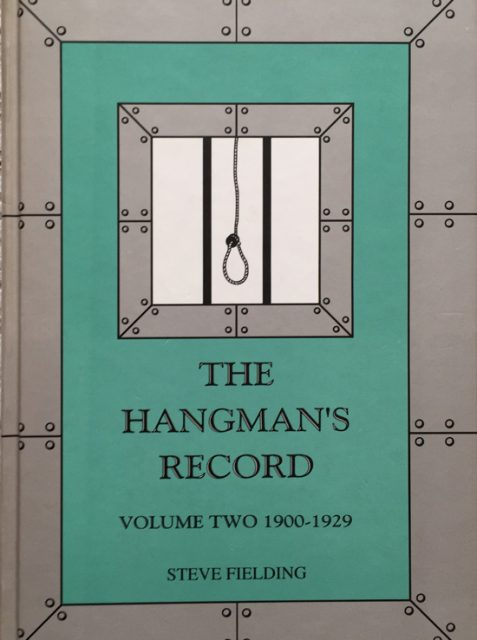 Hangman's Record Volume Two: 1900-29 By Steve Fielding