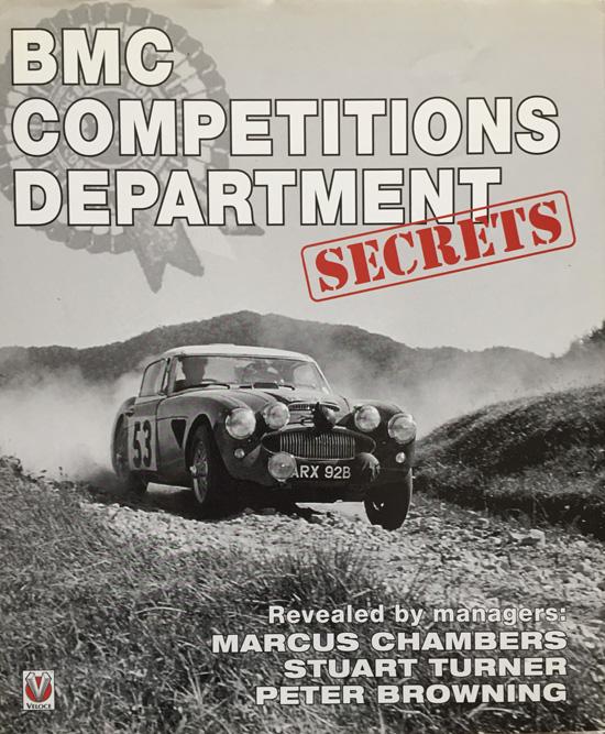 BMC Competitions Department Secrets By Marcus Chambers (Hardcover First Edition)