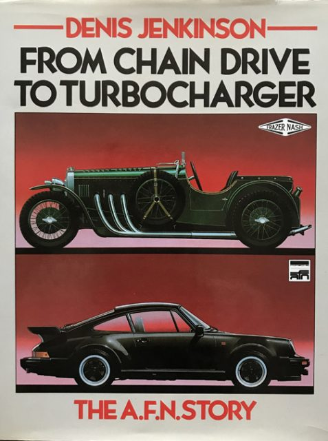 From Chain Drive to Turbocharger: The A.F.N. Story By Denis Jenkinson