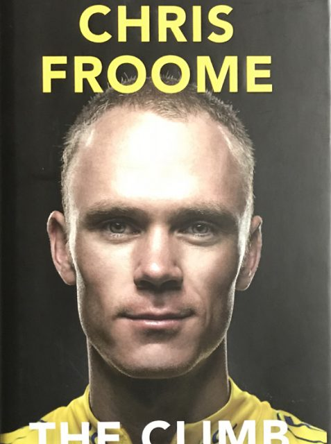 The Climb By Chris Foome - Signed Hardback Edition