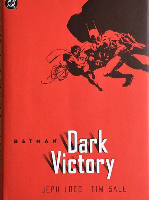 Batman: Dark Victory By Jeph Loeb - Hardcover