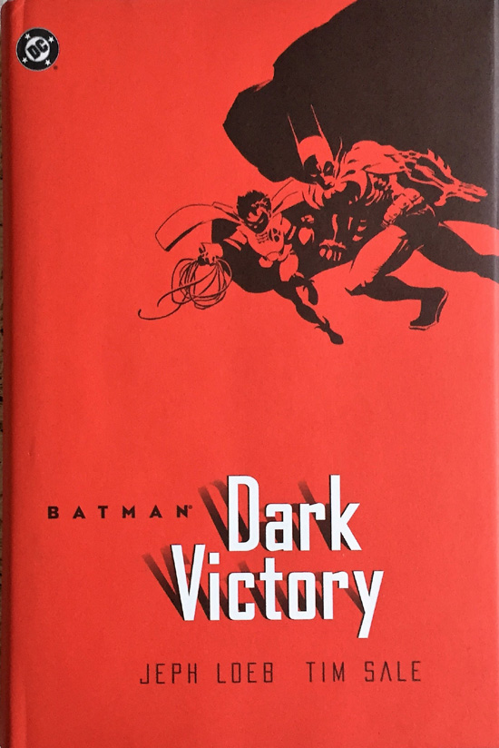 Batman: Dark Victory By Jeph Loeb - Hardcover