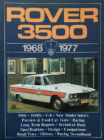 Rover 3500, 1968-77 (Brooklands Books Road Tests Series)