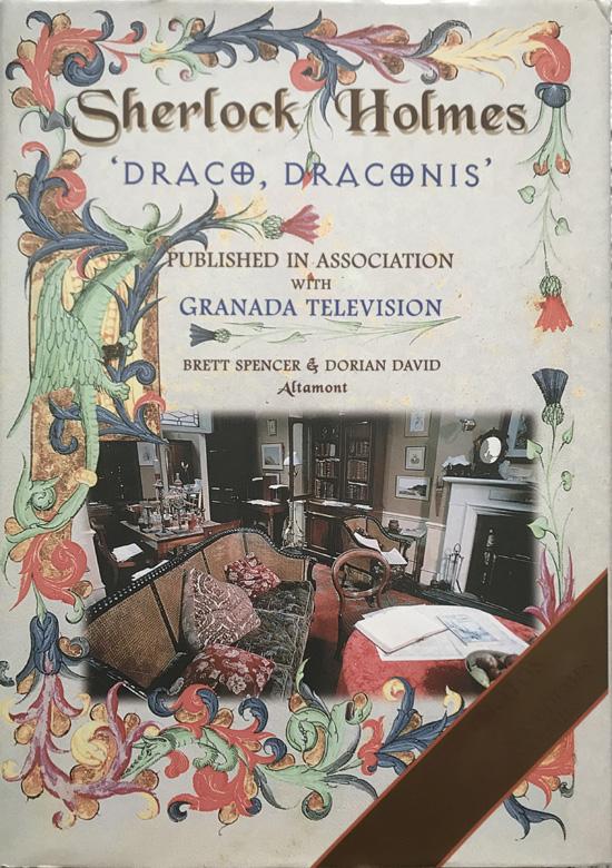 Sherlock Holmes Draco Draconis (Hardcover) Brett Spencer and Dorian David