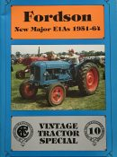 Fordson New Major EIAs 1951-64 (Vintage Tractor Special 10)