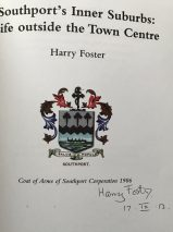 Southport's Inner Suburbs: Life Outside the Town Centre By Harry Foster – Signed Limited Edition