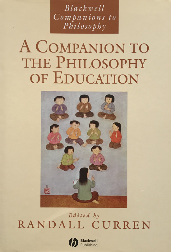 Book education philosophy of