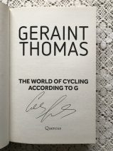 The World Of Cycling According To G By Geraint Thomas – Signed Copy