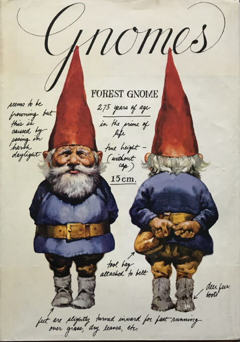 Gnomes By Wil Huygen, Illustrated By Rien Poortvliet - First English Language Edition