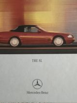 Mercedes-Benz SL 2000-01 UK Market Hardback Sales Brochure