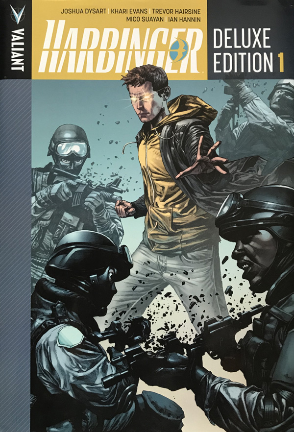 Harbinger Deluxe Edition Volume 1 By Joshua Dysart