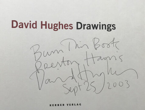 David Hughes: Drawings- Signed Edition