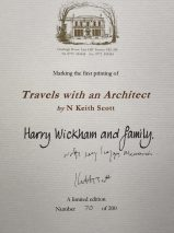 Travels with an Architect By N. Keith Scott – Signed Limited Edition