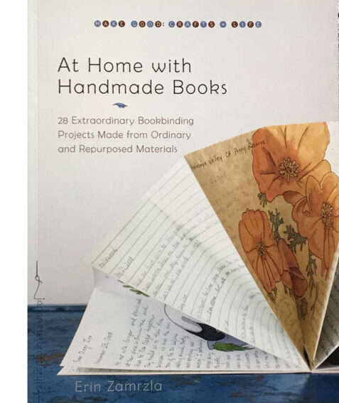 At Home with Handmade Books By Erin Zamrzla