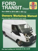 Ford Transit Diesel (2006 to 2013) Haynes Repair Manual