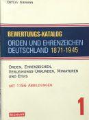 Bewertungs-Katalog: Orden und Ehrenzeichen Deutschland 1871-1945 By Detlev Niemann