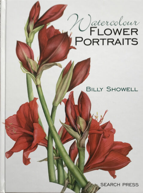 Watercolour Flower Portraits By Billy Showell