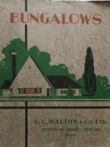 Vintage E. C. Walton & Co. Ltd Catalogue: Bungalows