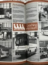 Buses Magazines Jan-Dec 1984 Volume 36 Bound in Green Boards