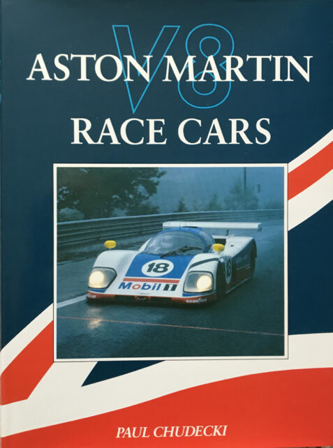 Aston Martin V8 Race Cars By Paul Chudecki