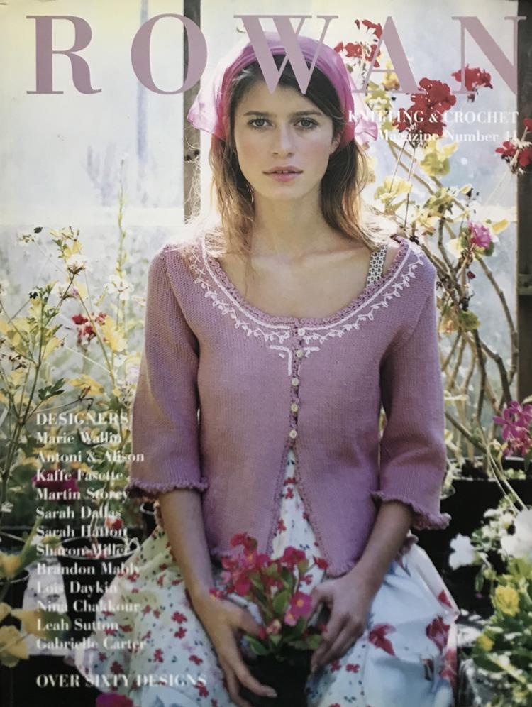 Rowan Knitting & Crochet Magazine Number 41