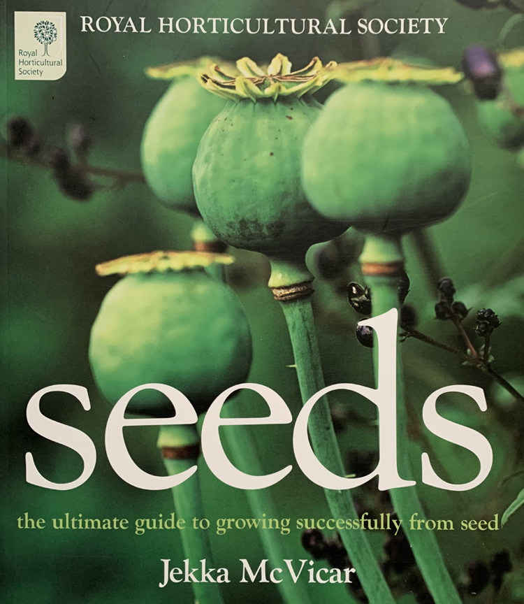 Seeds: Ultimate Guide To Growing Successfully From Seed By Jekka Mcvicar