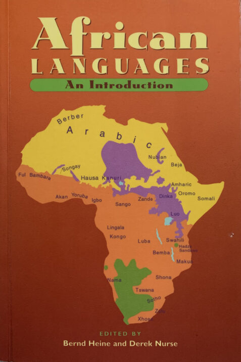 African Languages: An Introduction By Bernd Heine