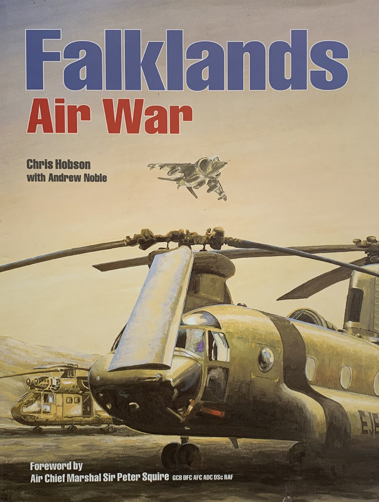 Falklands Air War By Chris Hobson and Andrew Noble