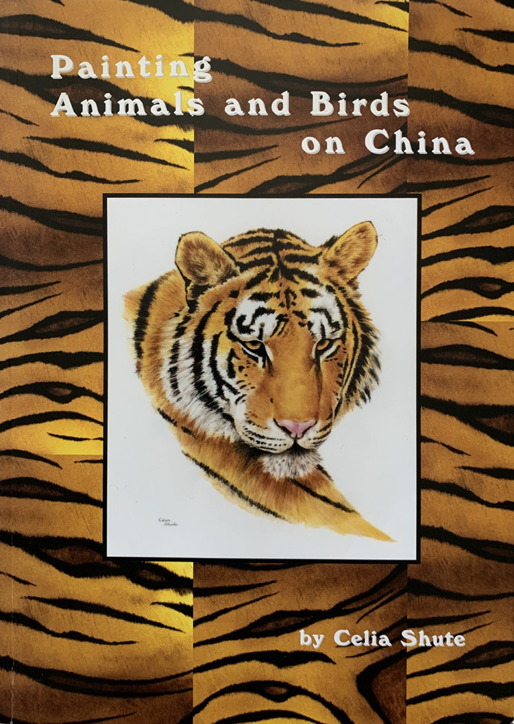 Painting Animals and Birds on China By Celia Shute