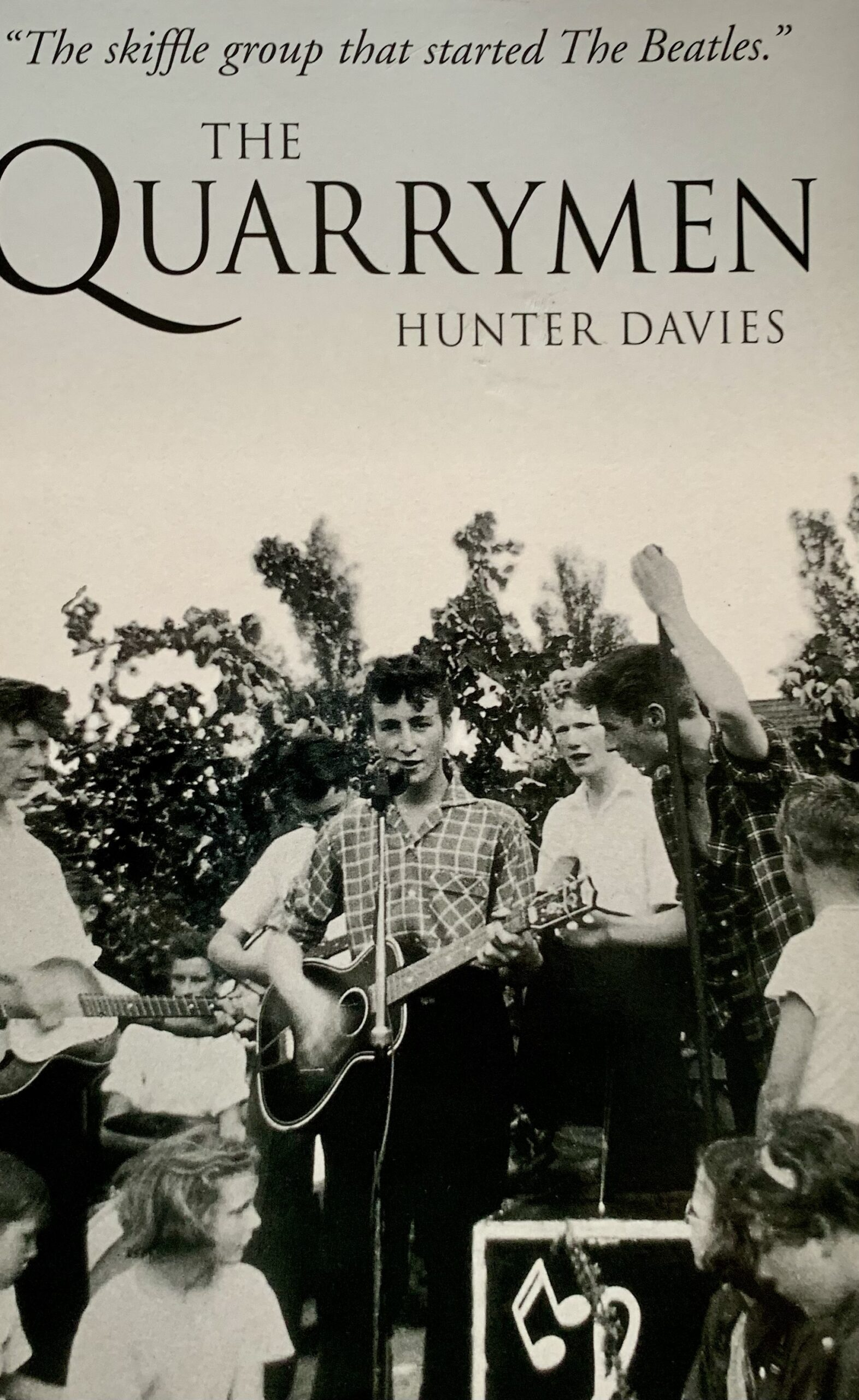 The Quarrymen By Hunter Davies